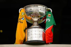 Mayo and Donegal battle for Sam.